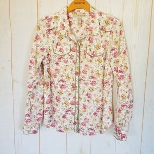 American Rag Western Style Button Up Shirt